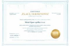 13-2019-Certyfikat-Płacę-Terminowo