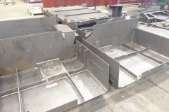 Półfabrykaty elementy przygotowane do dalszego montażu.