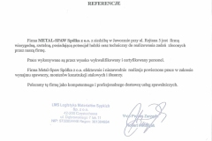 Referencje LMS