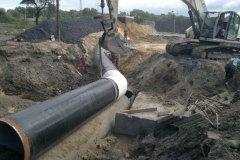 3 Pasowanie wstawki rurociągu wody pitnej DN 1400.