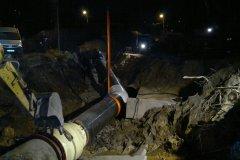 4 Montaż kompensatora wzdłużnego i wstawki rurociągu wody pitnej DN 1400. Pasowanie styków do spawania.