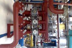 Polski Gaz - wykonanie instalacji gazowej i montaż pompy do tłoczenia gazu ciekłego .