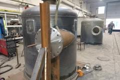 Prefabrykacja zbiorników technologicznych.